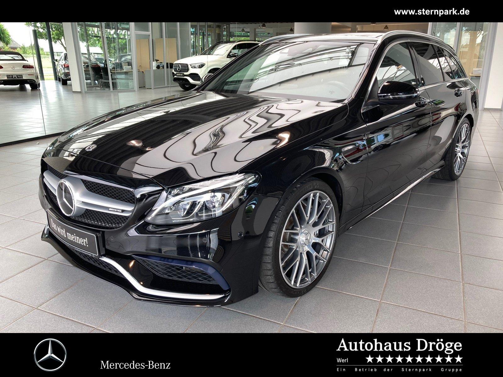Mercedes-Benz C 63 T AMG Comand*Pano*Memory*Distro*Kamera*LED, Jahr 2018, Benzin