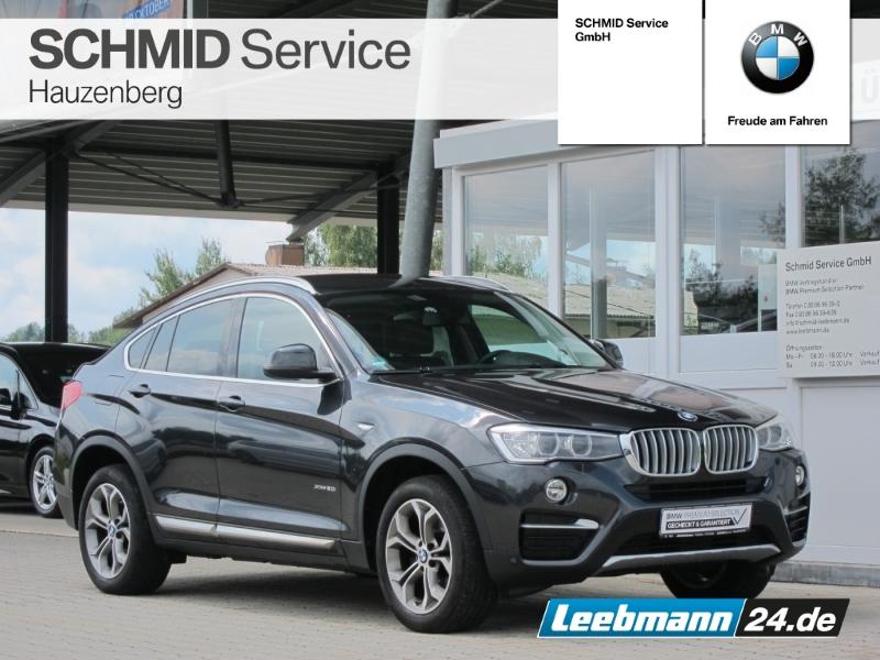 BMW X4 xDrive20i Aut. xLine RFK/LKH 2 JAHRE GARANTIE, Jahr 2017, Benzin