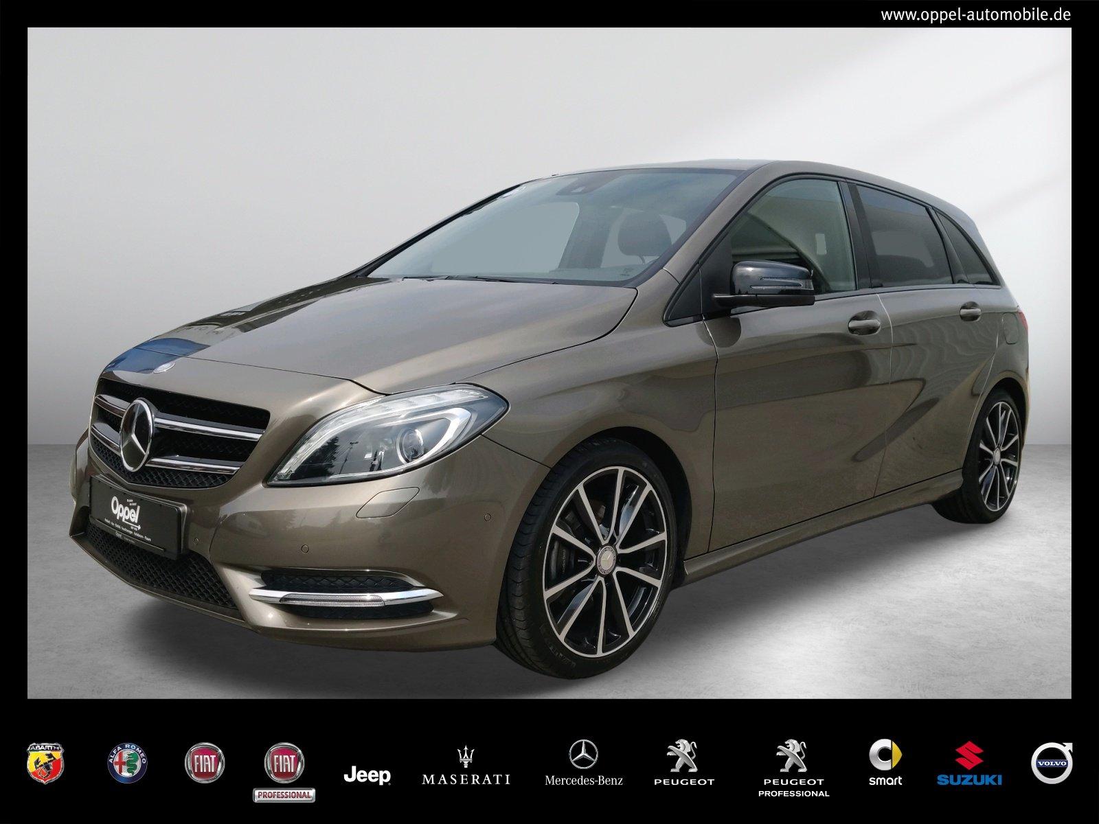 Mercedes-Benz B 180 BI-XENON+NIGHT+NAVI+R-KAMERA+SITZH+SPORT-P, Jahr 2014, Benzin