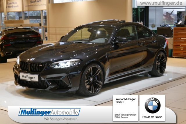 BMW M2 Coupe Competition GSD DrAs AdapLED RCam, Jahr 2019, petrol
