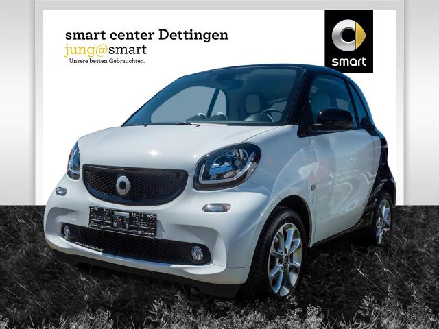smart fortwo coupé 52 kW Passion LED Klima Tempomat, Jahr 2015, Benzin