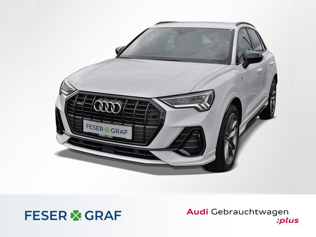 Audi Q3 design 2.0TDI qu S Line Interie LED,Leder,AHK, Jahr 2019, Diesel