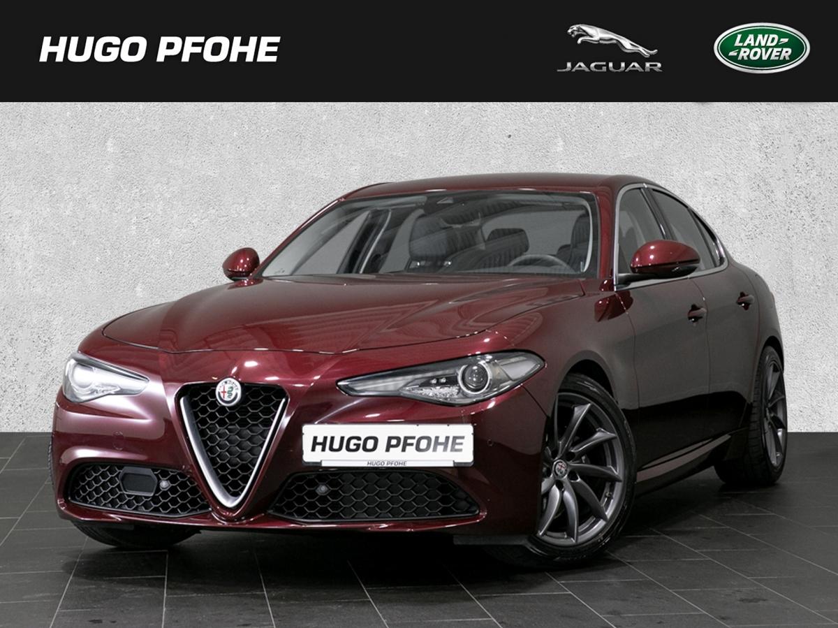 Alfa Romeo Giulia Super 2.0 Turbo 16V AT8 Super Klimaautom., Jahr 2017, Benzin