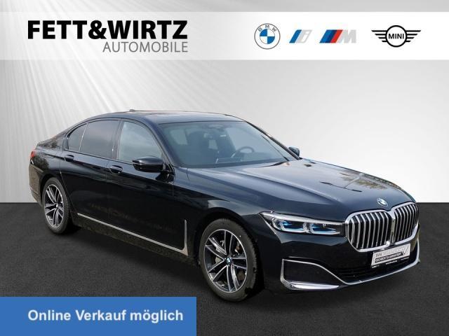 BMW 745e Laser HUD GSD Massage Sitzbel. TV H/K 19''LM, Jahr 2020, Hybrid
