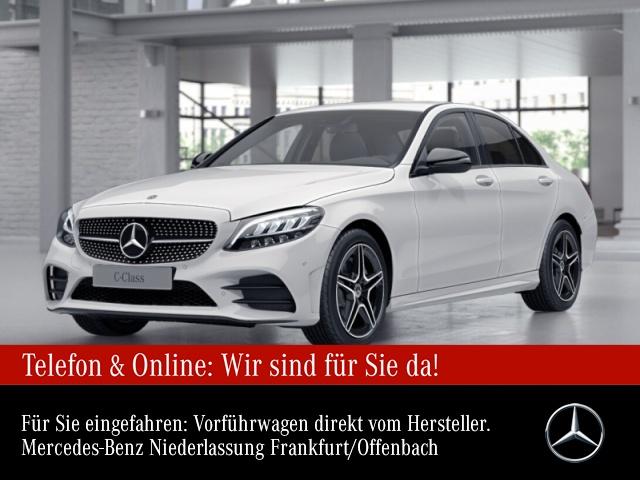 Mercedes-Benz C 200 AMG LED Night Kamera PTS 9G Sitzh Temp, Jahr 2021, Benzin