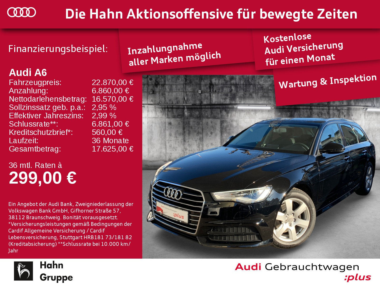 Audi A6 Avant 2.0TDI Ultra Xen+ Navi EinparkH Pano KlimaA, Jahr 2016, Diesel