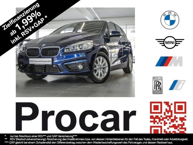 BMW 218 Active Tourer Advantage Klimaaut. PDC NSW, Jahr 2015, Diesel