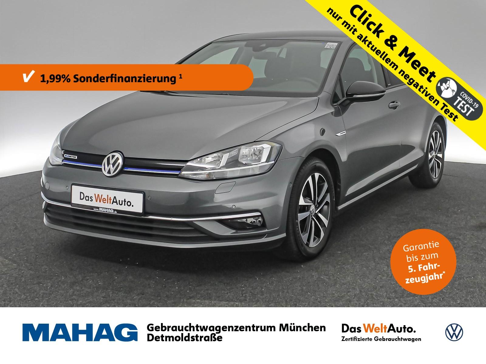 Volkswagen Golf VII 1.5 TSI ACT IQ.DRIVE Navi ParkLenkAssist Bluetooth 16Zoll 6-Gang, Jahr 2020, Benzin