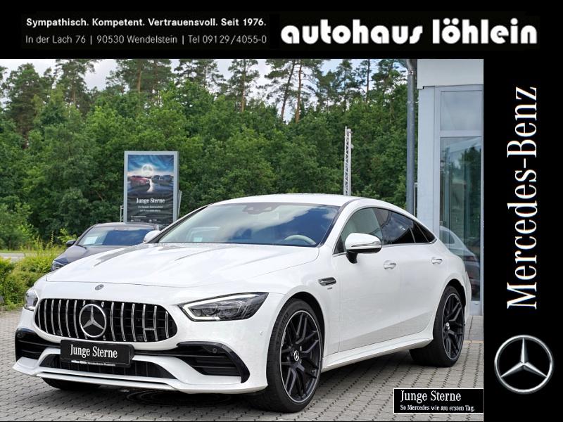 Mercedes-Benz AMG GT 43 5-SITZER+BURMESTER+21-ZOLL+WIDESCREEN+, Jahr 2019, Benzin