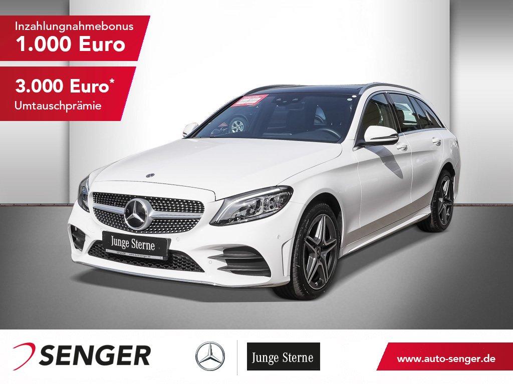 Mercedes-Benz C 200 T 4M+AMG-LINE+PANO+HIGH-END+ASSISTENZ+, Jahr 2020, Benzin