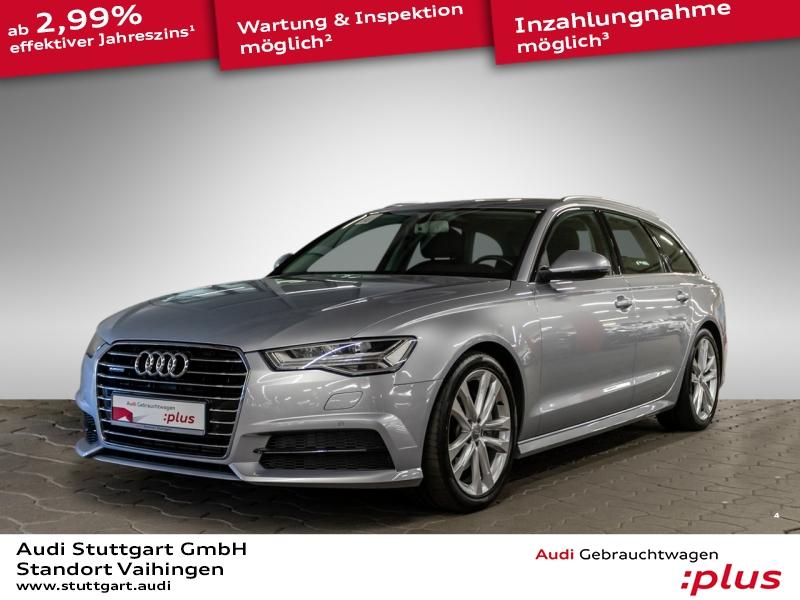 Audi A6 Avant 2.0 TFSI quattro LED Navi Pano AHK, Jahr 2018, Benzin