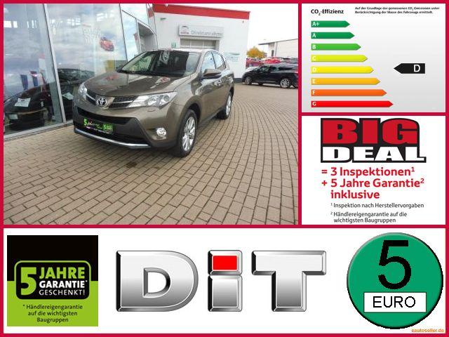 Toyota RAV4 2.2 D-4D DPF Executive Distronic Allrad Xen, Jahr 2014, Diesel