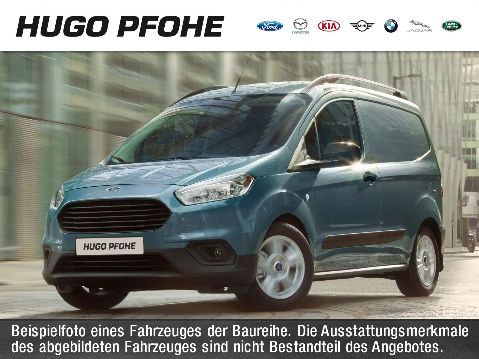 Ford Courier Trend 1.0 EB 74kW Kasten. Klima. BT. GJR, Jahr 2020, Benzin