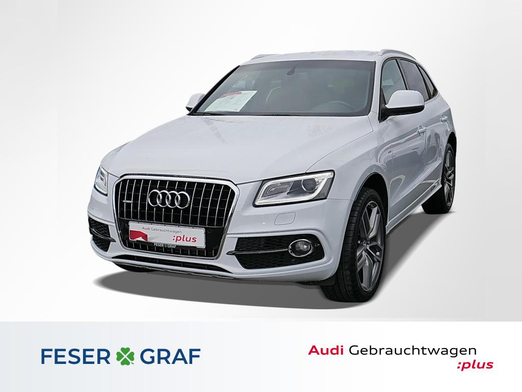 Audi Q5 2.0 TDI qu. S-tronic S-line Navi Tempomat/21, Jahr 2015, Diesel