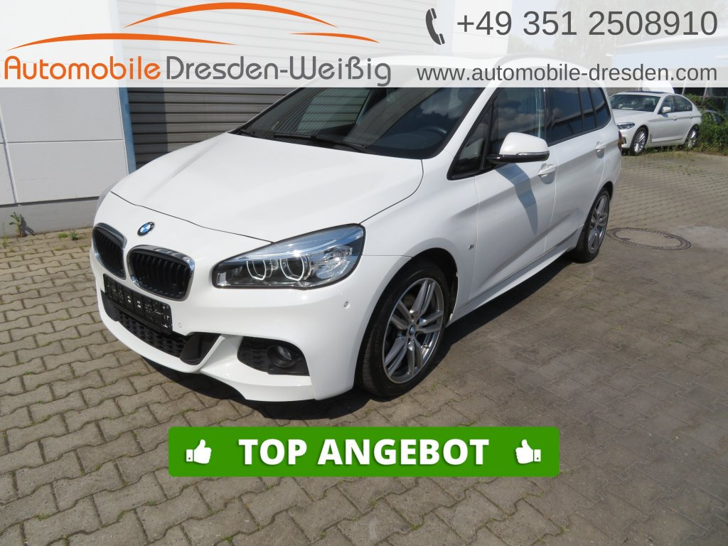 BMW 218 Gran Tourer d M Sport*ACC*Pano*Kamera*Navi, Jahr 2017, Diesel