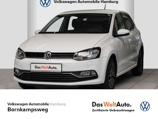 Volkswagen Polo 1,2 TSI BMT ALLSTAR, KLIMA,PDC,SITZHZG, Jahr 2017, Benzin