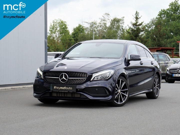 Mercedes-Benz CLA 200 Shooting Brake AMG Line *LED*Pano*, Jahr 2017, Benzin