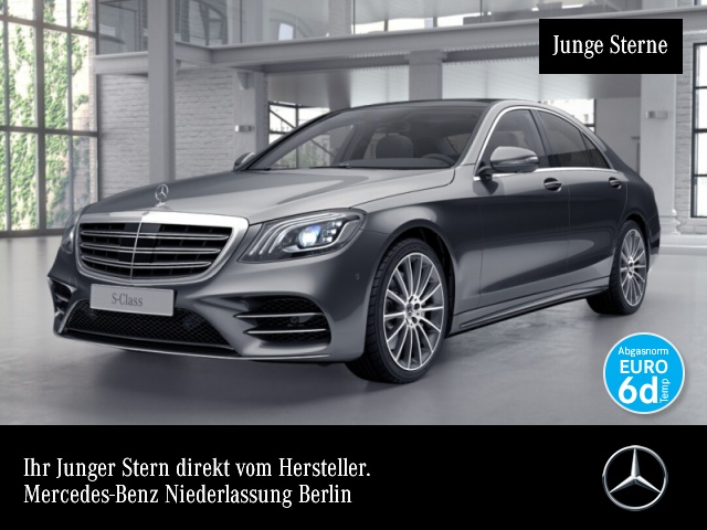 Mercedes-Benz S 560 4M AMG designo Nachtsicht 360° Stdhzg Pano, Jahr 2018, Benzin