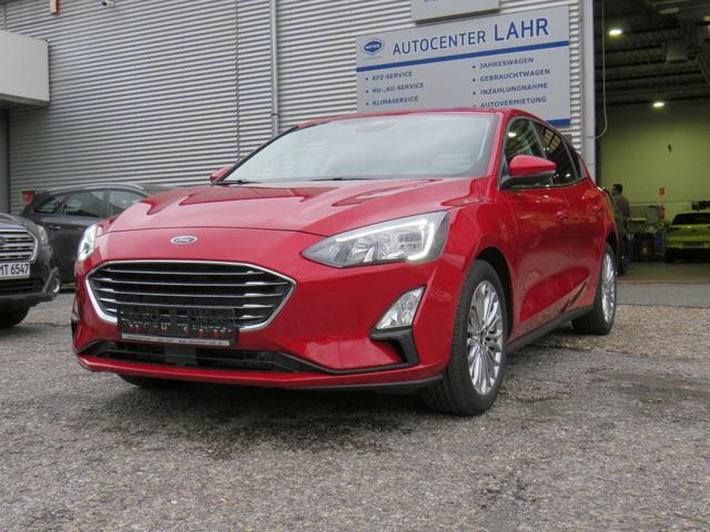 Ford Focus Titanium X 125 EcoBoost Navi Kamera Win..., Jahr 2021, Benzin