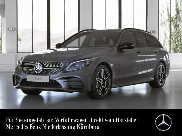 Mercedes-Benz C 300 de T AMG+Night+MultiBeam+Fahrass+Kamera+9G, Jahr 2021, Hybrid_Diesel