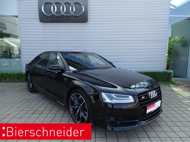 Audi S8 plus 4.0 TFSI exclusive Standheizung SD Keramik Bose DAB Technologie-Pak. Matrix Leder Massage+Sitzbelüftung PDC+Kameras A, Jahr 2017, petrol