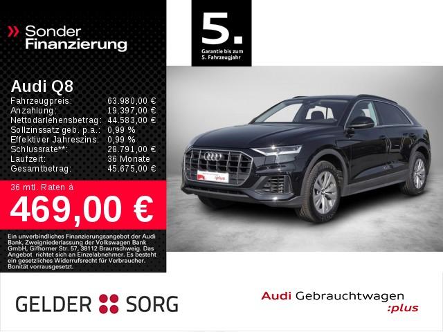 Audi Q8 55 TFSI qu. *Kamera*Virtual*Standhzg.*ACC*LED*, Jahr 2019, Benzin