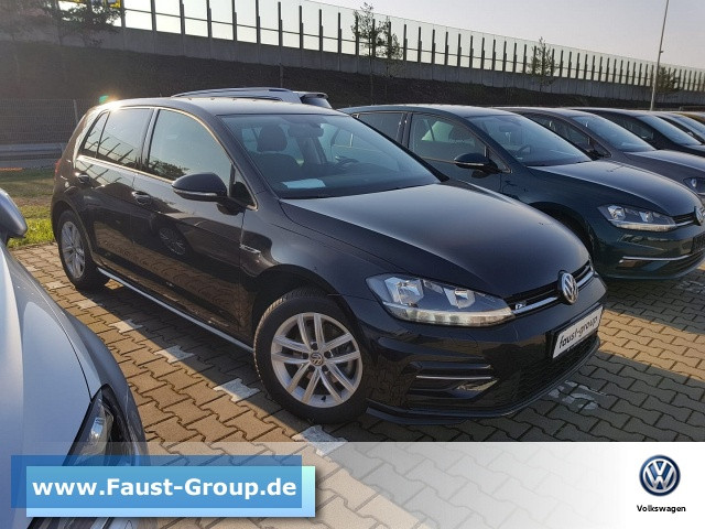 Volkswagen Golf VII R-Line UPE 33000 EUR Gar-02/23 Light, Jahr 2018, Diesel