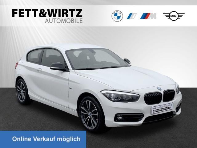 BMW 120i Sport Line Navi LED Tempomat Klima Shzg PDC, Jahr 2018, Benzin