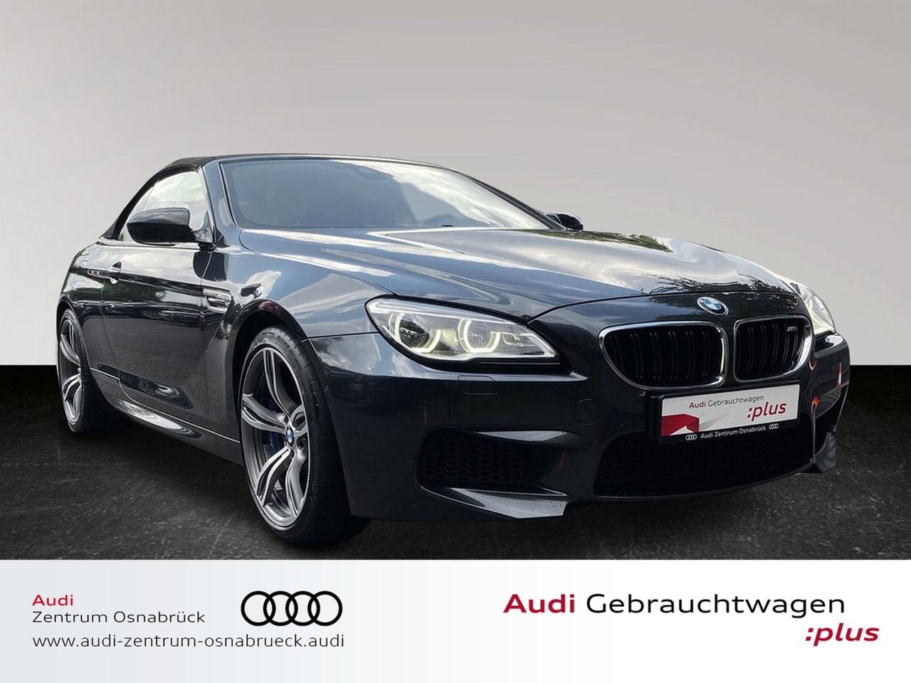 BMW M6 Cabrio LCI DKG Navi HUD LED SoftClose B&O TopView Leder 20-Zoll, Jahr 2016, Benzin