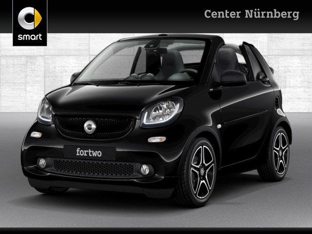 smart fortwo cabrio 66kW passion BRABUS tailor made DCT, Jahr 2019, Benzin