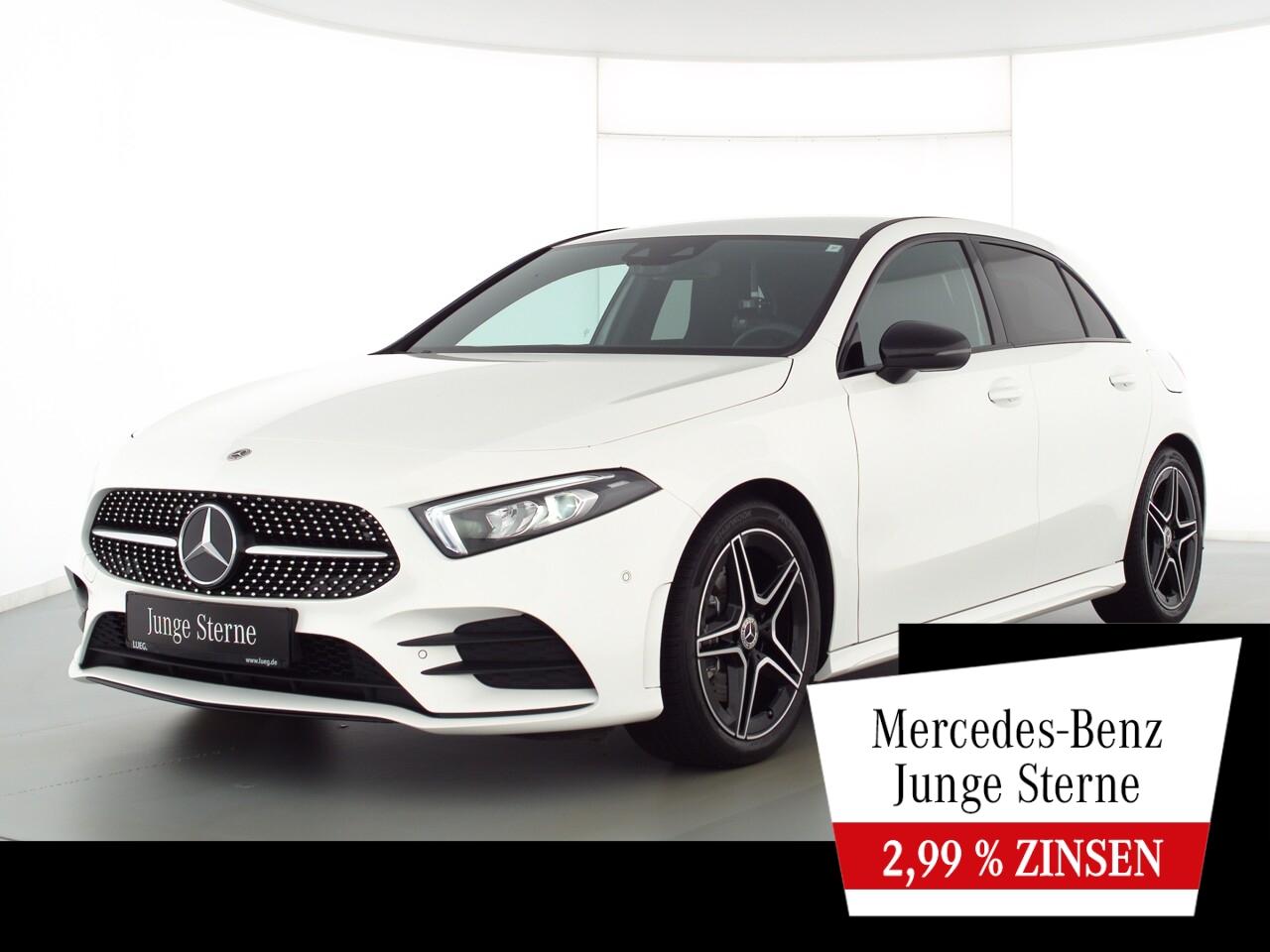 Mercedes-Benz A 220 4M AMG+MBUXHighE+LED-HP+Night+Sound+ParkAs, Jahr 2020, Benzin