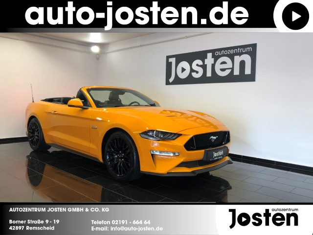 Ford Mustang GT 5.0 Convertible Facelift PremiumPack2, Jahr 2018, Benzin