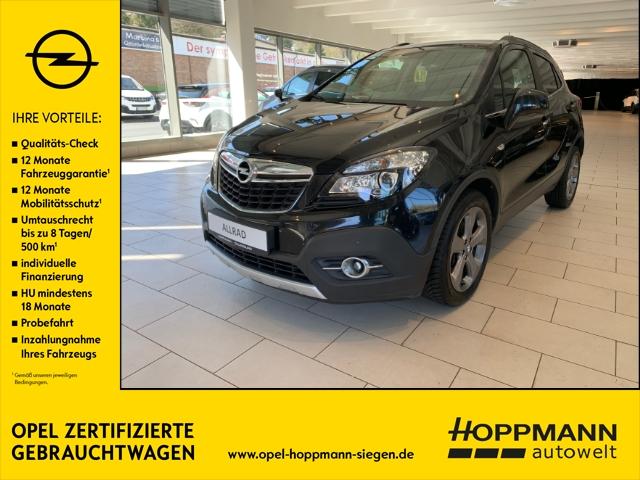 Opel Mokka Innovation Allrad Klimaautomatik Sitzheizung Navigation Tempomat, Jahr 2013, Diesel