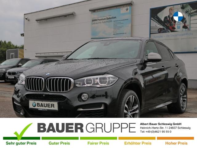 BMW X6 M50 d Leder LED Navi StandHZG Keyless Kurvenlicht Klimasitze e-Sitze HUD ACC Rückfahrkam., Jahr 2016, Diesel