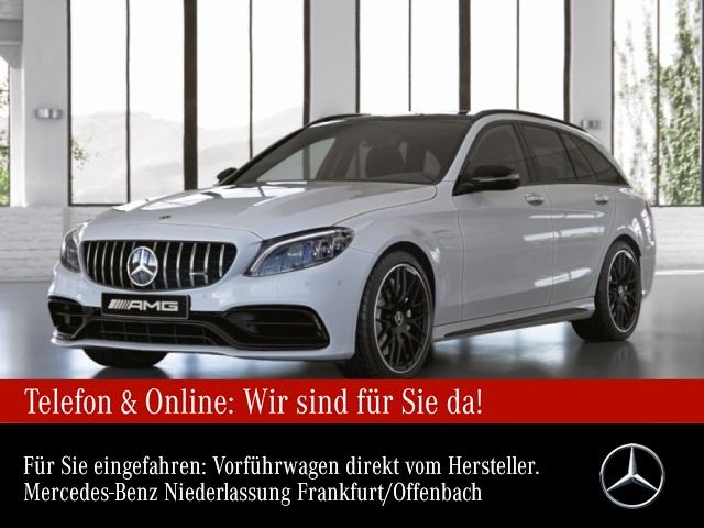 Mercedes-Benz C 63 T-Modell Sportpaket Bluetooth Navi LED Klima, Jahr 2020, Benzin