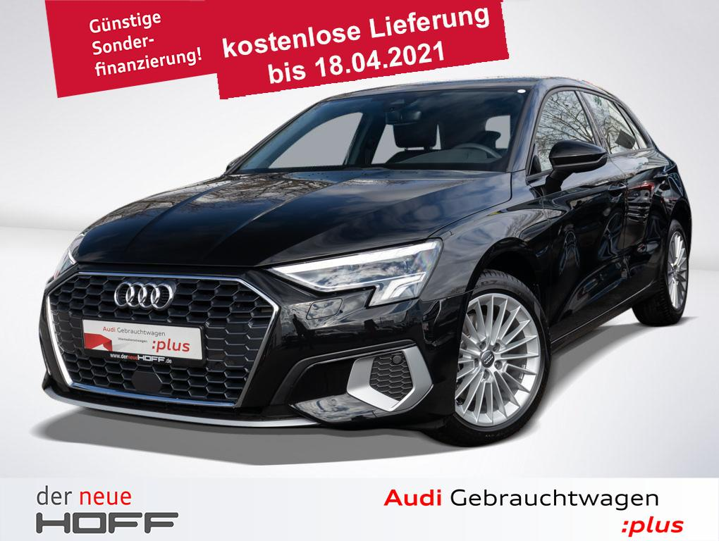 Audi A3 Sportback Advanced GW WOCHEN! ASI LED Sitzhei, Jahr 2020, Benzin