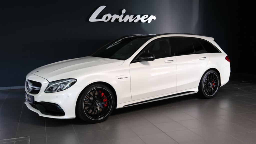 Mercedes-Benz C 63 S T-Modell PTS+360°-K/PANO/DISTRONIC/MEMORY, Jahr 2017, Benzin
