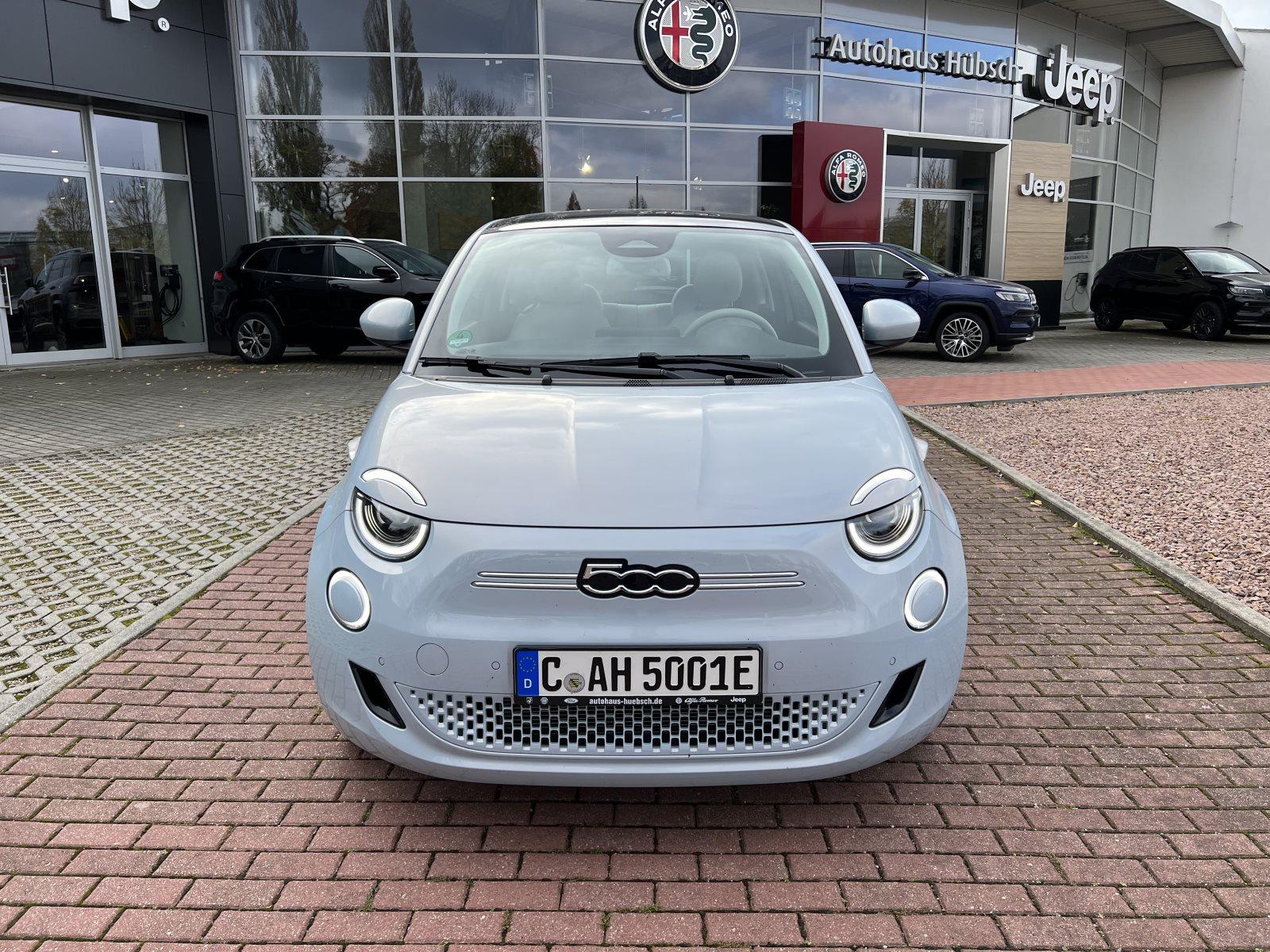 Fiat 500 e la Prima Winter-Paket, Jahr 2021, Elektro