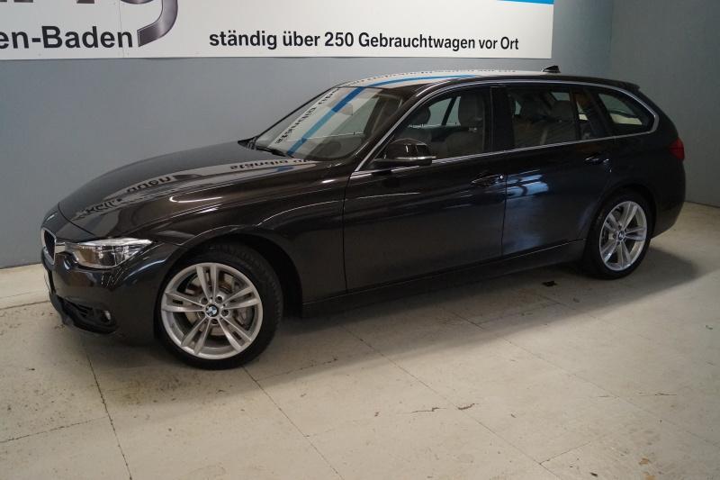 BMW 340i xDrive Touring Advantage Aut. Navi Head Up ACC LED PDC el. Sitze Kamera, Jahr 2015, Benzin