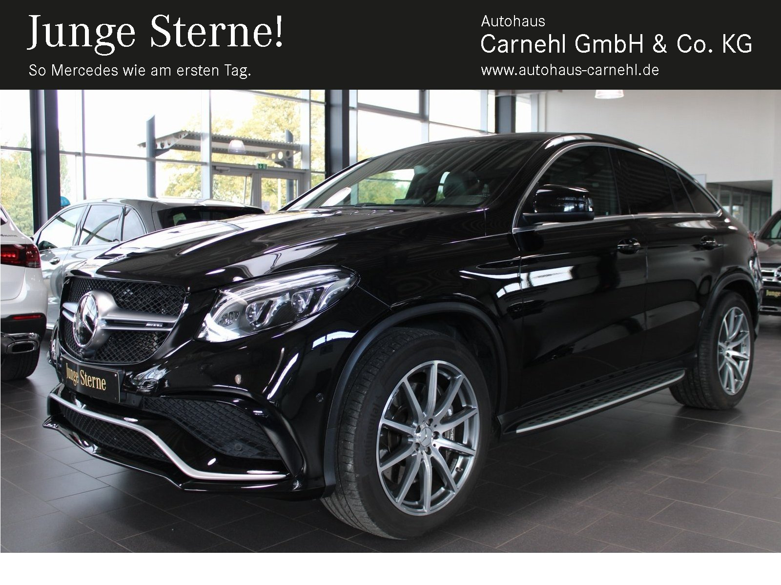 Mercedes-Benz GLE 63 4M Coupé ActCurve+AHK+360°+StandHzg+Pano, Jahr 2016, Benzin