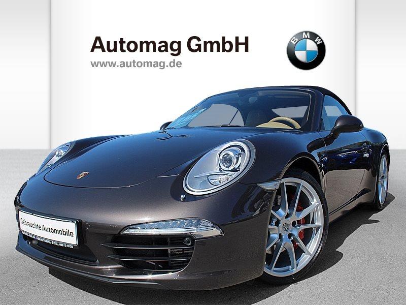 Porsche 991 (911) Carrera S *2.Hd.*()*Cabrio*Scheckheft*, Jahr 2012, petrol