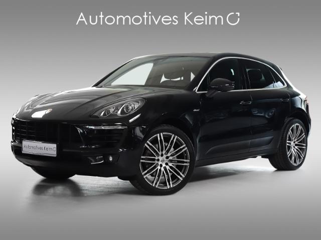 Porsche Macan SD LUFT PANO KAMERA 21TURBO MEM PRIVACY, Jahr 2014, diesel
