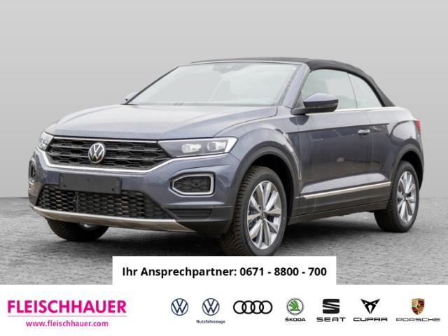 Volkswagen T-Roc Cabriolet Style 1.0 TSI UPE 32835,- inkl. Überführungskosten, Jahr 2020, Benzin