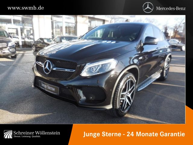 Mercedes-Benz GLE 43 AMG Coupé Night-P°*Airmatic*PSD*Harman-P*, Jahr 2017, petrol