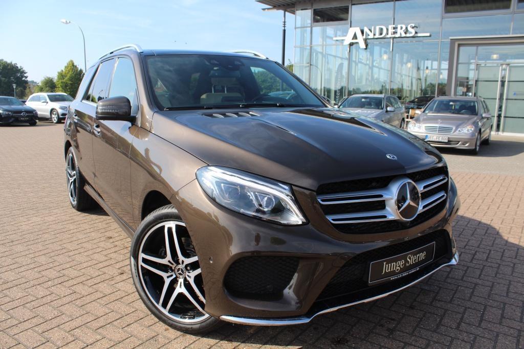 Mercedes-Benz GLE 350 d 4M AMG+Comand+Distr.+LED+AHK+Pano+360°, Jahr 2017, Diesel