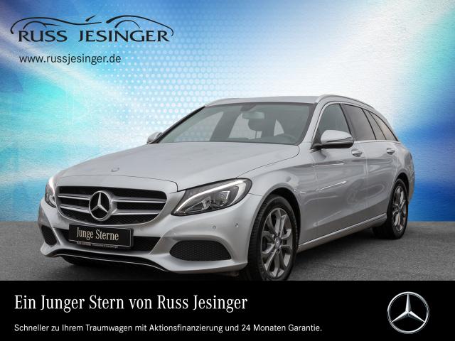 Mercedes-Benz C 250 d T AVANTGARDE STANDHZG + NAVI + AHK + LED, Jahr 2016, Diesel