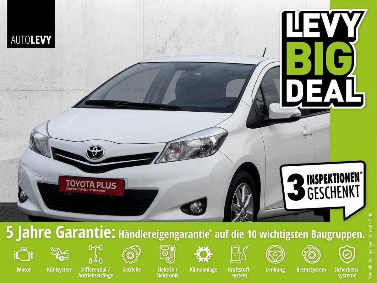 Toyota Yaris 1.33 VVT-i Edition Kamera*ALU*Klima, Jahr 2013, petrol
