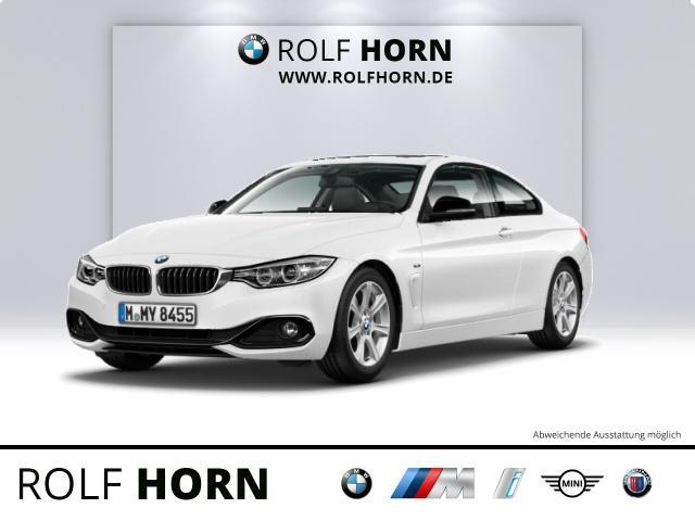BMW 420d Coupe Sport Line Navi Glasdach Autom. EURO6, Jahr 2014, Diesel
