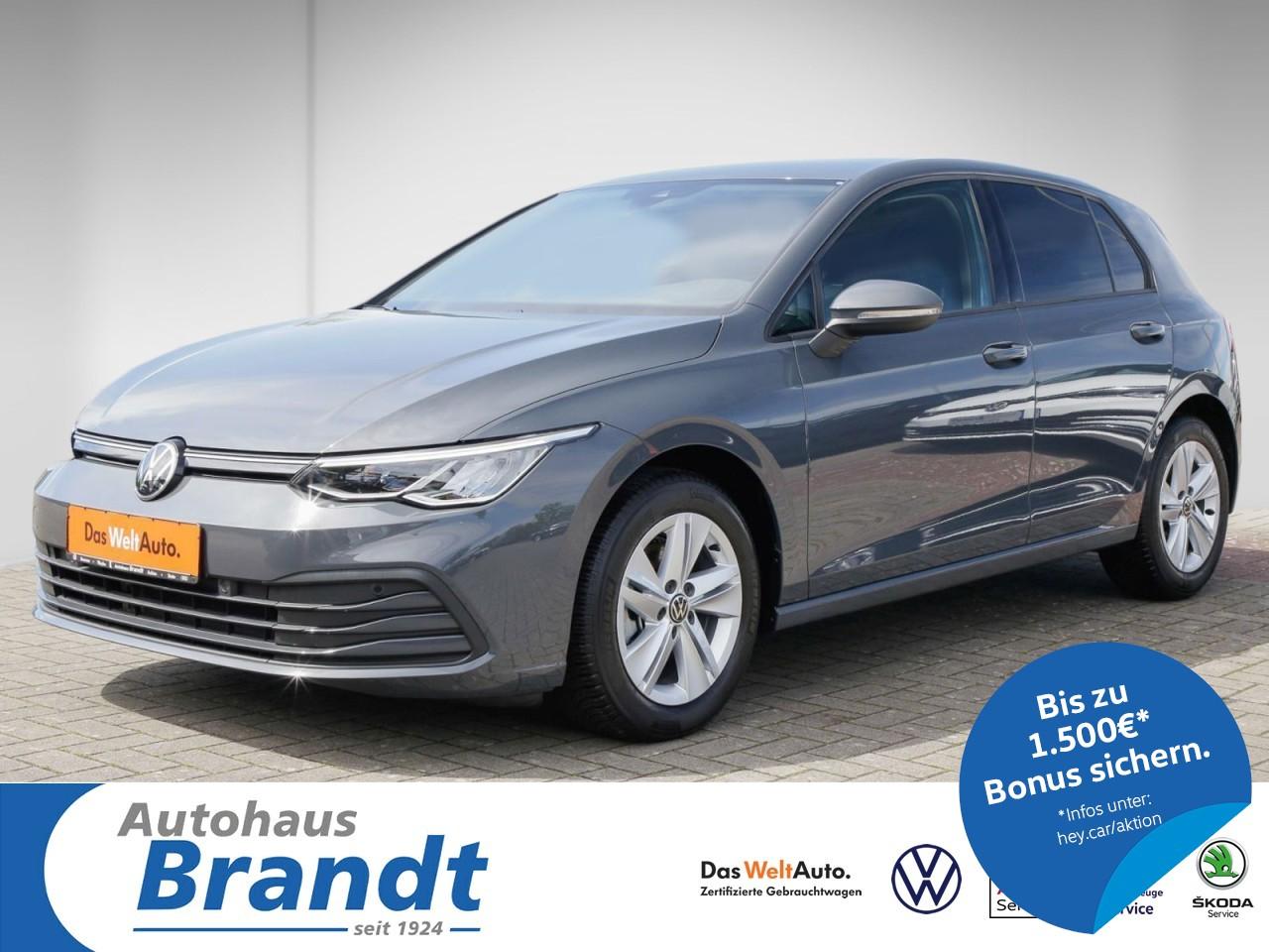 Volkswagen Golf VIII 2.0 TDI Life DSG*LED*NAVI*ACC*DIGITAL COCKPIT, Jahr 2020, Diesel