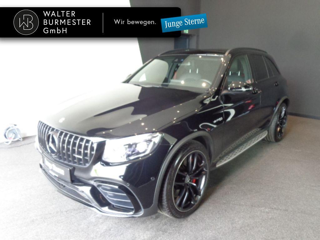 Mercedes-Benz AMG GLC 63 S 4M+ Designo+Drivers P.+Burmester, Jahr 2019, Benzin